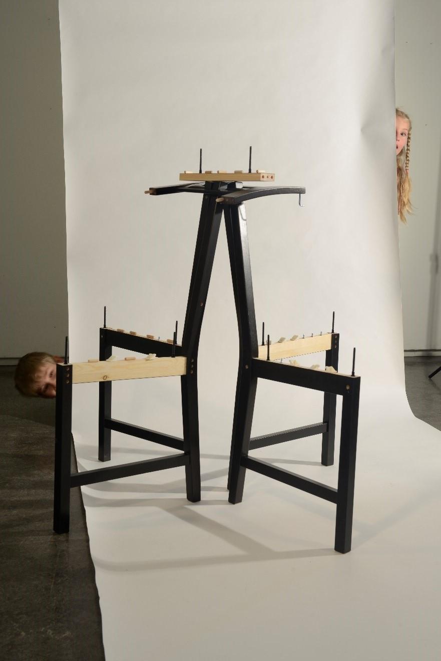 Activité familiale de création : Variation d'une chaise