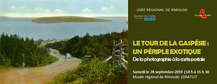 Conférence sur l'image de la Gaspésie à travers la carte postale