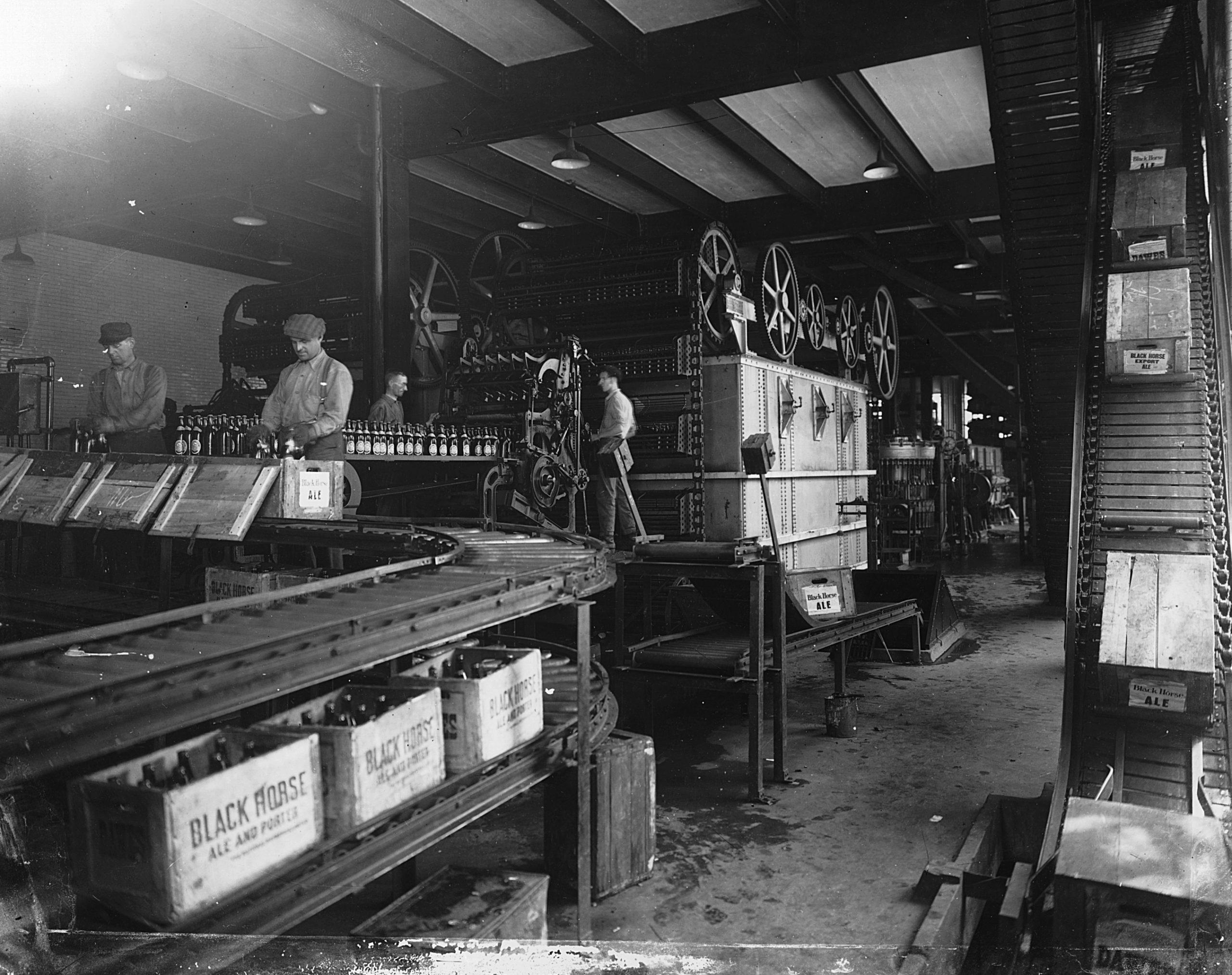 Chaîne de production de bières