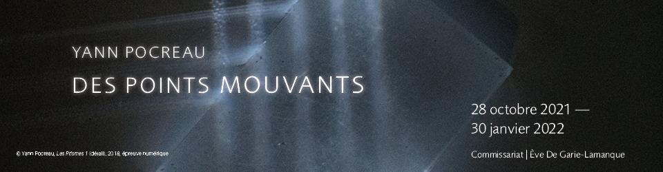 Yann Pocreau, Des points mouvants